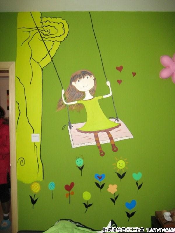 幼儿园墙绘卡通画