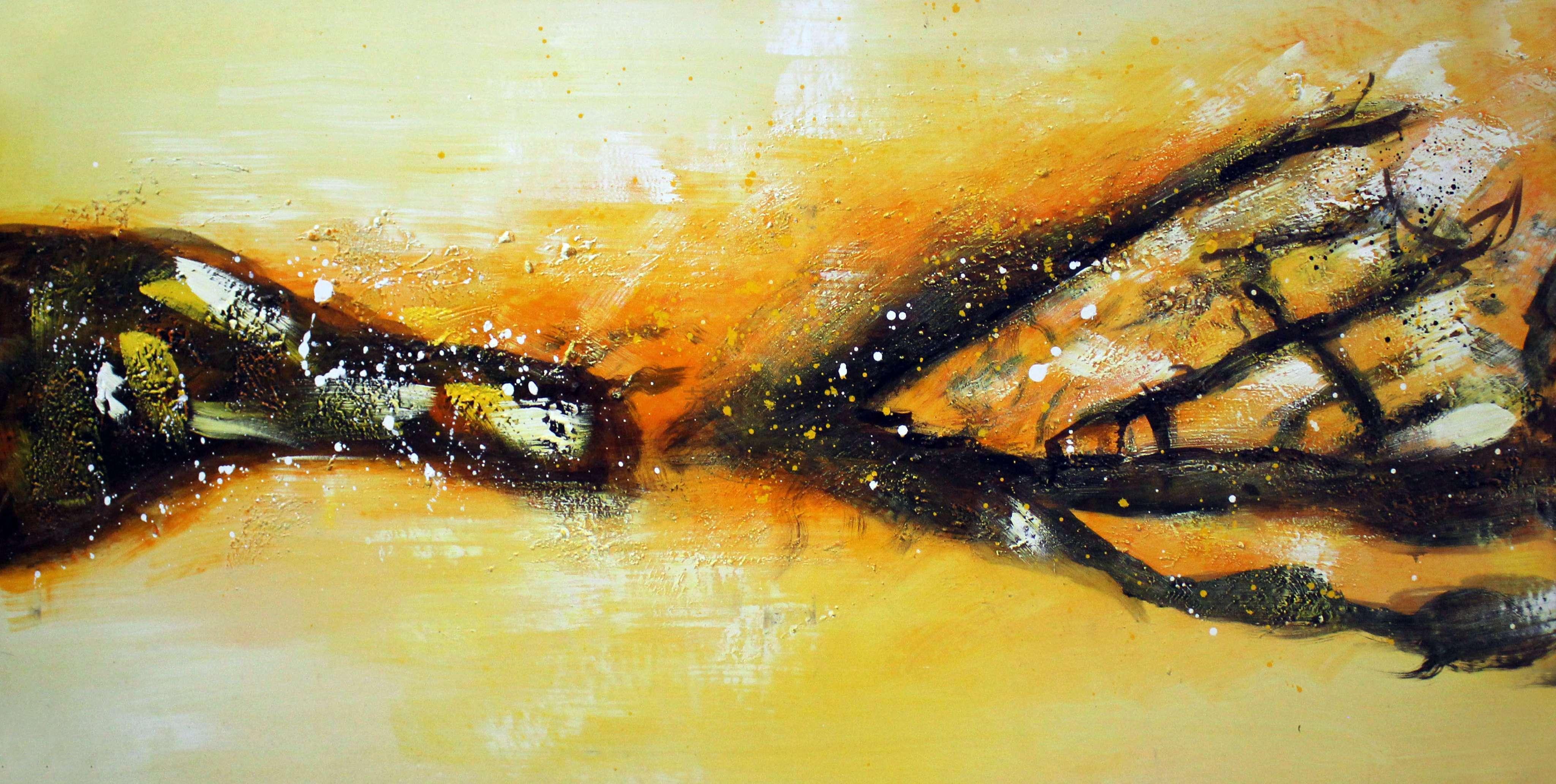 抽象画素材-苏州装饰画油画抽象