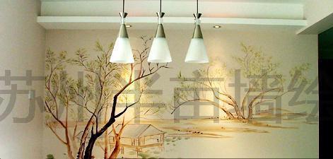 手绘墙苏州墙绘装饰